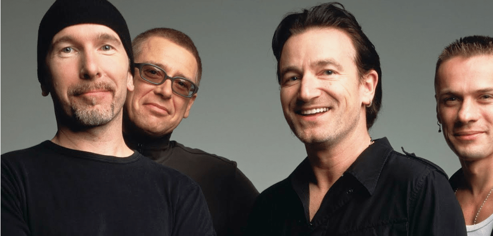 U2 –  You're the best thing about me