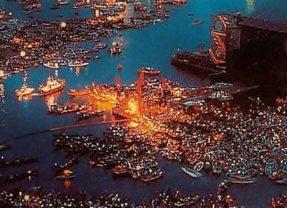 Luglio 1989, il concerto evento dei Pink Floyd a Venezia
