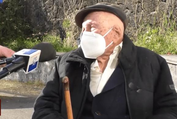 Coronavirus, al Policlinico di Catania il più anziano a ricevere il vaccino: 105 anni