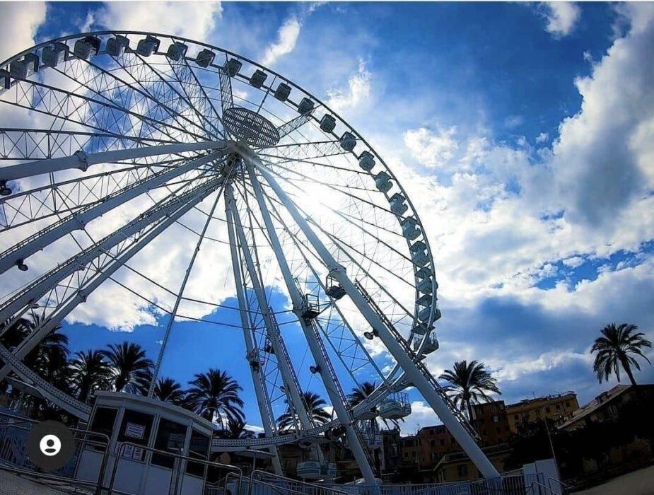 """Catania """"gira"""" la ruota panoramica alta 50 metri"""