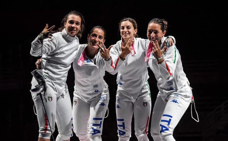 Olimpiadi Tokyo '20, le catanesi Fiammingo e Santuccio vincono il bronzo nella spada