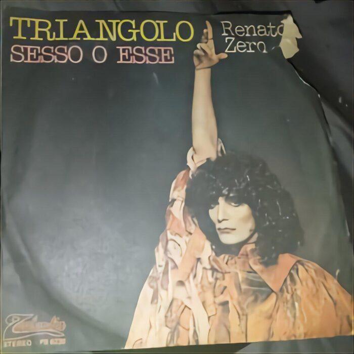 """Quarantatrè anni fa l'uscita di  """"Triangolo"""" singolo di Renato Zero"""